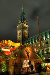 Hamburg, Weihnachten.