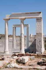 Temple of Demeter, Naxos island (Greece)