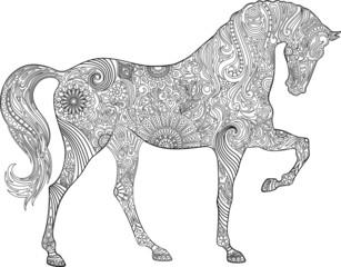 Horse ornaments