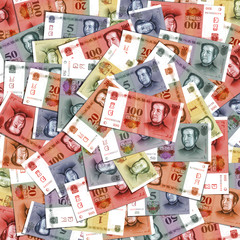 Yuan. Vector format