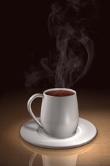 Becher Kaffee - Tasse W2