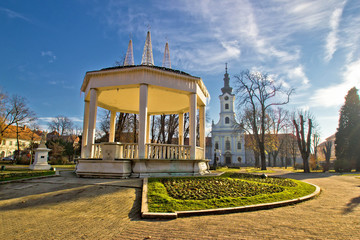 Town of Bjelovar central park Wall mural