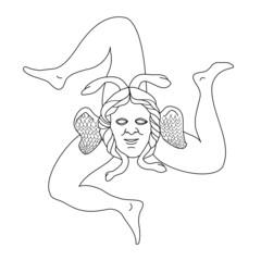 Photos illustrations et vid os de triskell for Stemma della repubblica italiana da colorare