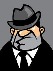 fat mafia potrait