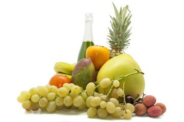 tropical fruit set