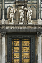 Wall Mural - Paradiespforte Baptisterium Florenz Italien