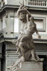 Wall Mural - Palazzio Vecchio Florenz Italien Skulptur