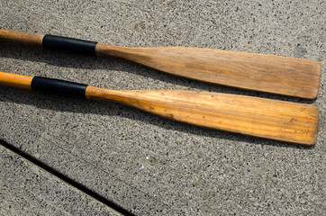 Two old Oars