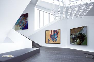 Inside a Art Gallery (focus)