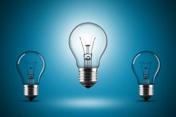 light bulb row