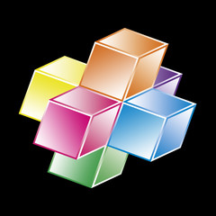 Basic hypercube - geometrical shape
