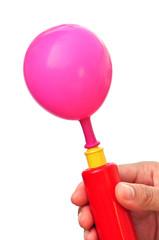 Air pump and balloon