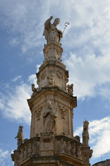 Sant'Oronzo statue, Ostuni, Puglia, Italia