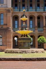 Robert Brough fountain Sydney Hospital