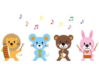 動物の演奏