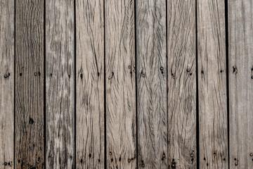 pattern of  old wooden  bridge floor