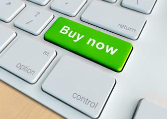 Buy now enter key on a keyboard