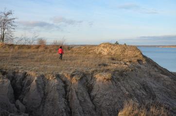 Bergbaufolgelandschaft in der Lausitz