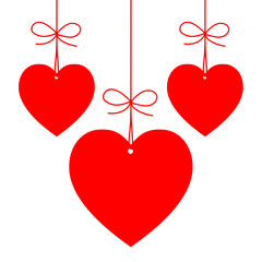 VALENTINE'S HEART-SHAPED PRICE TAGS (day love gift)