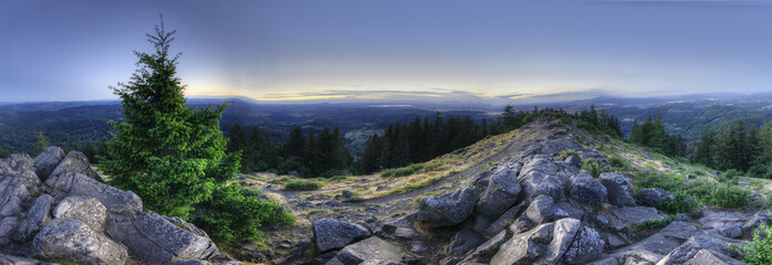 HDR Panorama of Mount Pisgah