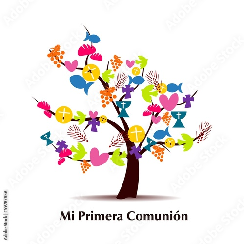 "mi primera comunion"" stock image and royalty-free vector files on"