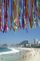 Rio Carnival Wish Ribbons Christ Redeemer Corcovado