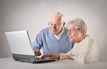 Old Technologic Couple