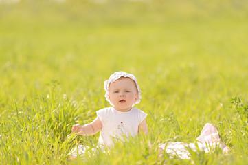 Walk in Green Grass