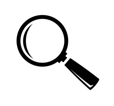 vector magnifying glass