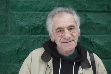 old italian man on the street