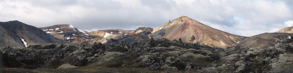 Rhyolite hills 1. Iceland