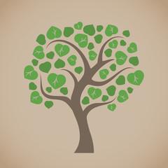 Simple vector tree