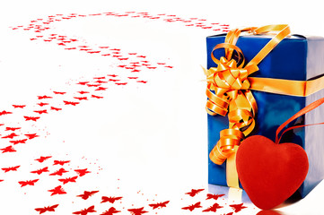 gift with heart