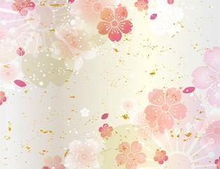 桜 和柄 春 (横長)