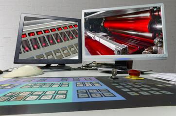 Pringing Press color management unit spectrophotometer