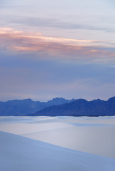 Dawn at White Sands
