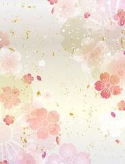 桜 和柄 春 (縦長)
