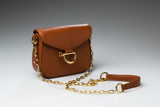 Fashionable brown bag