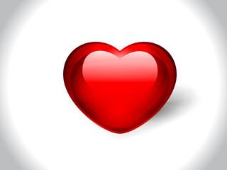 Vector Glossy Heart