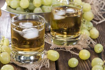 Fresh Grape Juice with Ice