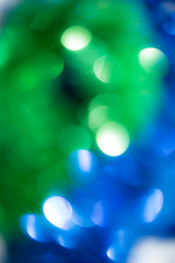 beautiful holiday bokeh as background