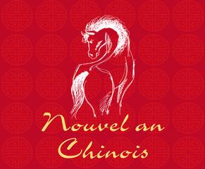 Nouvel an chinois Panneau