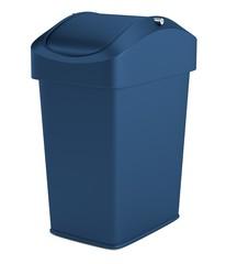 realistic 3d render of bin