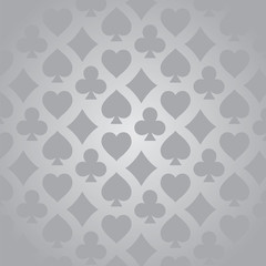 Playing card suit pattern