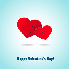 Card with Valentine's Day