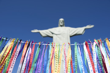 Fita do Bonfim Brazilian Wish Ribbons Corcovado Rio