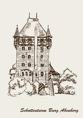 Schottennturm Burg Abenberg Turm