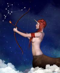 Zodiac series - Sagittarius