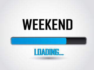 Weekend loading icon
