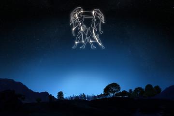 Zodiac Sign Gemini ,Part of a Zodiac series